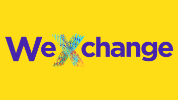 Wexchange logo with yellow background