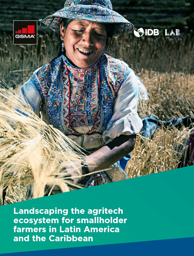 book cover Landscaping the Agritech Ecosystem for Smallholder Farmers in Latin America and the Caribbean