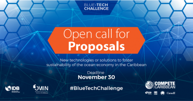 Announcing: Blue Tech Challenge with up to US$2M in funding for Blue Economy proposals
