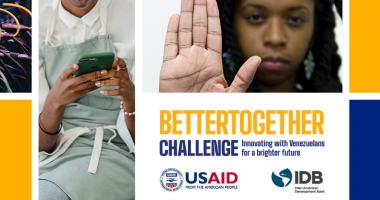 banner with USAID and IDB Lab logo